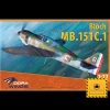 1/72 Bloch MB.151 C.1 Model Kit