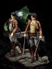 Attack of Titan: Ellen & Levi 1/7 PVC Figures