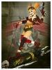 DC Comics Bombshells Harley Quinn Gotham or Bust Print