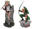 Diamond: Green Arrow & Harley Qeen PVC Figures