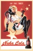 Fallout: Nuka Cola Pin-Up Tin Sign Replica