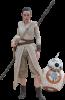"Hot Toys Star Wars The Force Awakens Rey & BB8 12"" figure set"
