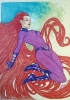 Inhumans: Medusa Pin Up Original Art