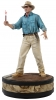 Jurassic Park: Alan Grant with Flare 1/4 Statue