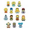 Kidrobot - Simpsons Enamel Pins Display