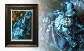 Malavestros The Muse of Madness Framed Print