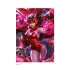 Marvel Art Print Scarlet Witch by Derrick Chew