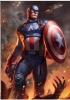 Marvel: Captain America Art Print