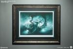 Sideshow Art Print: Gallevarbe - Framed