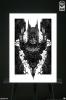 Sideshow: Batman Fine Art Print by Nekro