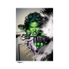 Sideshow: She-Hulk by Mike Mayhew Art Print