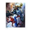 Spider-Man vs Venom Fine Art Print