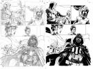 Star Wars The Purge The Tyrant's Fist Original Art # 1/08