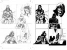 Star Wars The Purge The Tyrant's Fist Original Art # 2/20