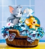 Tom and Jerry: Bath Time Statue