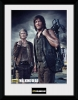 Walking Dead Framed Poster Carol and Daryl 45x34