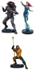 Aquaman Movie Statues: Aquaman, Black Manta, Mera