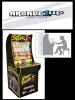 Arcade1Up Mini Cabinet Arcade Game Street Fighter II