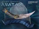 Avatar Replica 1/1 Na´vi Curved Dagger 49 cm