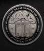 Back to the Future Coin 25th Ann. Clock Tower