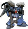 Bandai - Mobile Suit Gundam: Universal Unit 'Xeku-Zwei' Model Ki