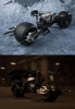 Bandai - The Dark Knight S.H. Figuarts Batpod