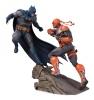 Battle Statue Batman vs. Deathstroke