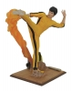 Bruce Lee Gallery PVC Statue Kicking