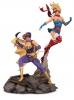 DC Bombshells Statue Batgirl & Supergirl