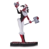 DC Comics Red, White & Black Statue Holiday Harley Quinn
