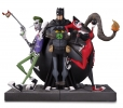 DC Gallery Bookends The Joker & Harley Quinn