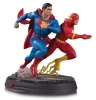 DC Gallery Statue Superman vs The Flash Racing