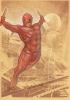 Daredevil Original Color Art Pin Up