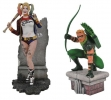 Diamond: Green Arrow & Harley Qeen PVC Figures