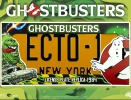 GHOSTBUSTERS ECTO-1 LICENCE PLATE