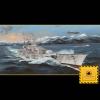 German Scharnhorst Battleship 1:200 Model Kit