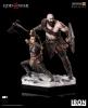 God of War Deluxe Art Scale - Kratos & Atreus