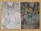 Grimm Fairy Tales 2013 Special Ed. Unleashed # 6 Original art