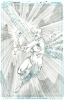 Hawkman # 25 Pagg. 10 Original Art