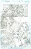 Hawkman # 25 Pagg. 13 Original Art