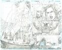 Hawkman # 25 Pagg. 18/19 Original Art