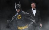 "Hot Toys Batman Returns Batman & Bruce Wayne 12"" Figure Set"