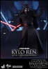 "Hot Toys Star Wars The Force Awakens: Kylo Ren 12"" figure"