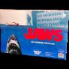 JAWS - NO SWIMMING WOOD SIGN