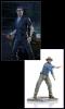 Jurassic Park Ian Malcolm & Alan Grant Statues