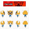 Kidrobot: Aggretsuko Figure Regular & Rage Versions