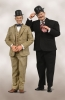 "Laurel & Hardy - Classic Suits 12"" Figures"