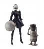NieR Automata Bring Arts 2B & Machine Lifeform