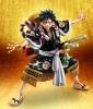 One Piece E- Monkey D. Luffy Kabuki Edition Black
