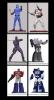 PCS - G.I. Joe & Transformers PVC 1/8 Statues